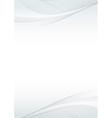 Abstract swoosh wave folder mock-up vector