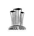 Commercial property vector