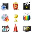 Movie icons | bella series vector