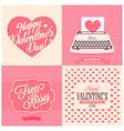 Happy valentins day vector