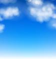 Realistic sky vector