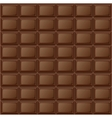 Background chocolate bar vector