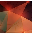 Multicolored triangle abstract background vector
