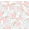 Abstract seamless flower pattern vector