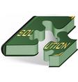 Book as puzzle vector