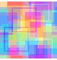Abstract modern square pastel pixel background vector