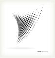 Halftone dots vector