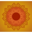 Lace background for greeting card like indian vector