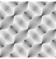 Design seamless monochrome convex pattern vector