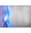 Background blue wave grey vertical vector