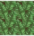 Seamless floral pattern inspired by leaves of vector