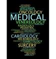 Medical specialization vector