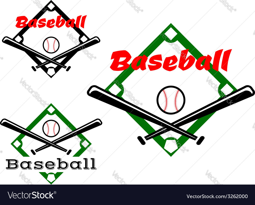 Baseball labels or badges vector | Price: 1 Credit (USD $1)