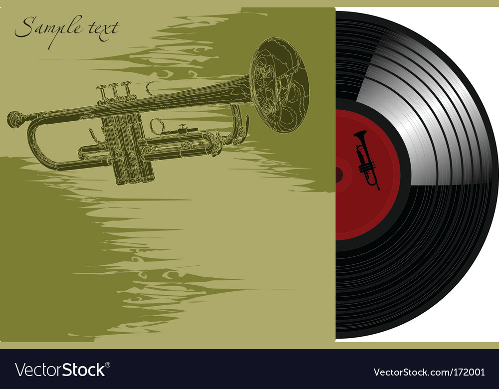 Gramophone record vector | Price: 1 Credit (USD $1)