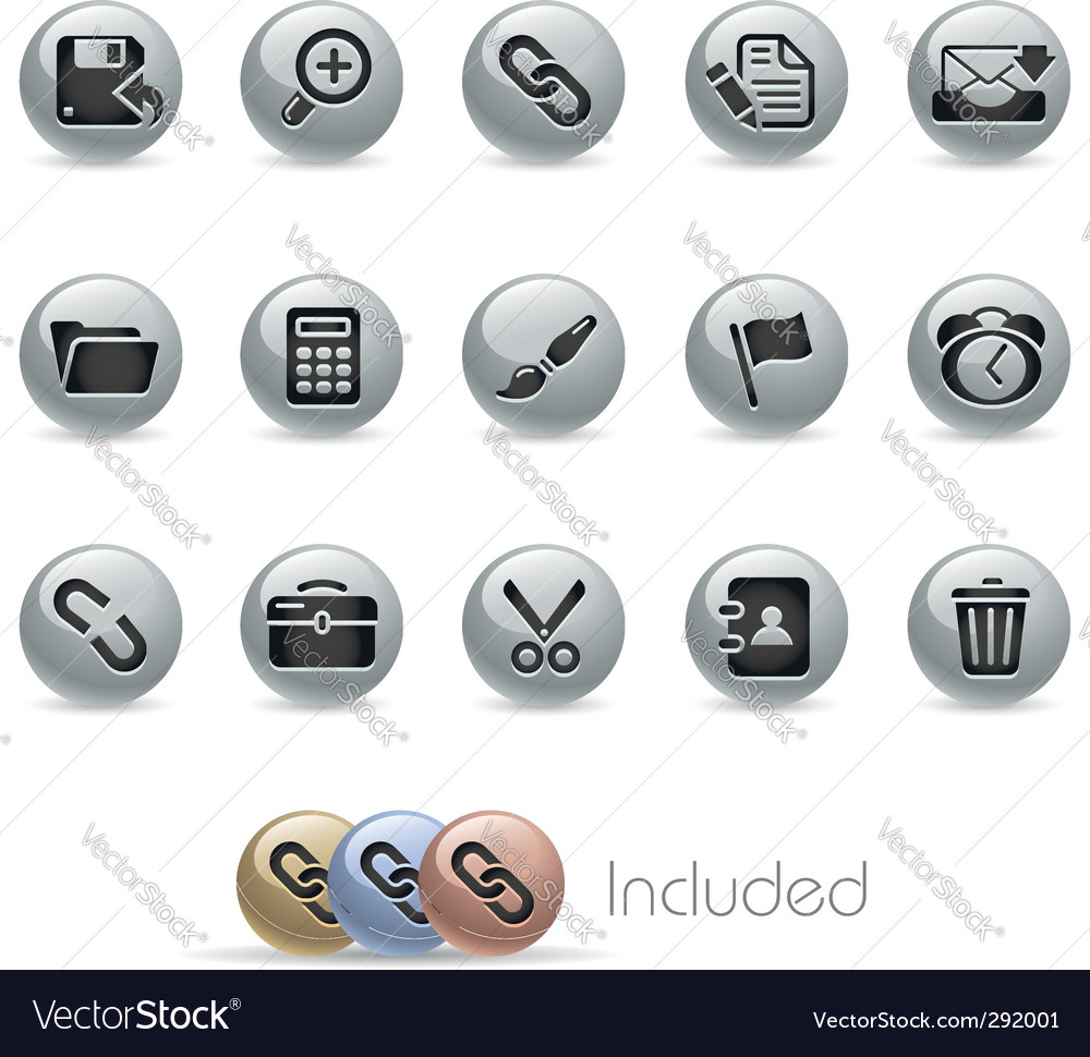 Interface icons vector | Price: 3 Credit (USD $3)
