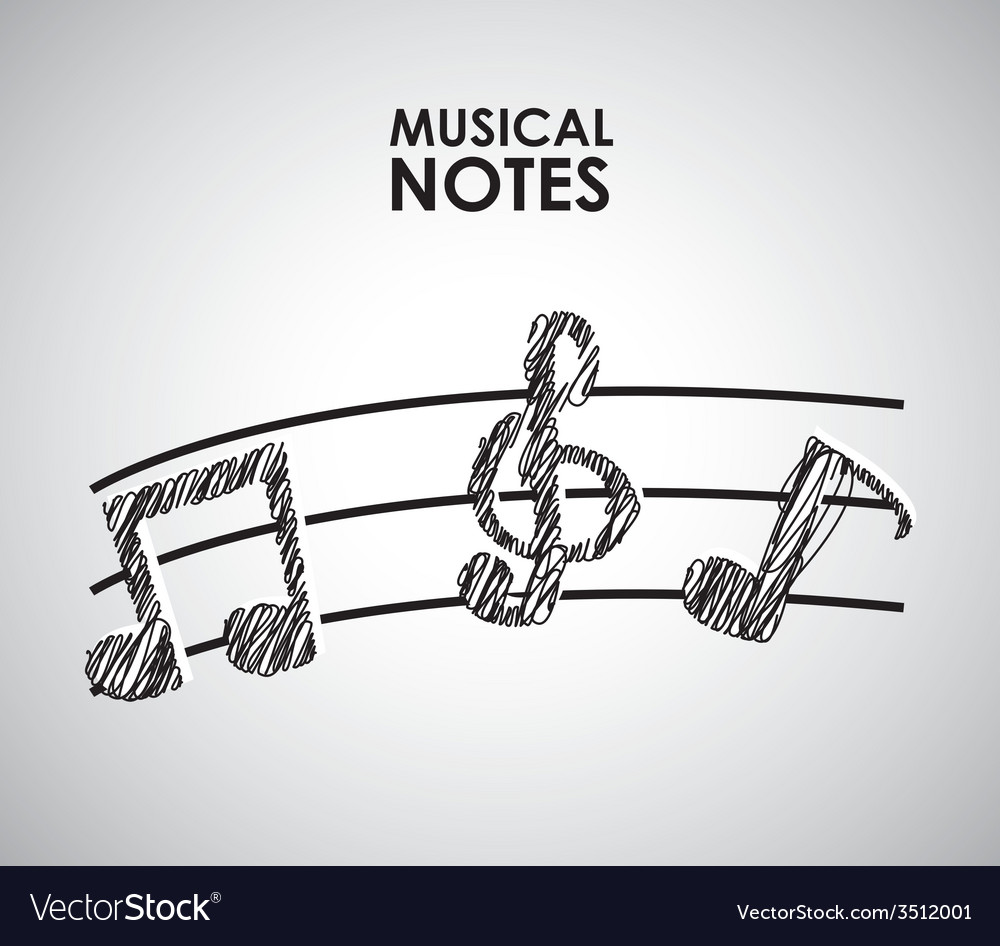 Musical vector | Price: 1 Credit (USD $1)