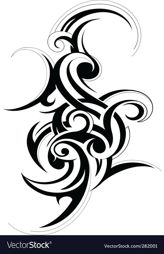 Scroll design element vector   Price: 1 Credit (USD $1)