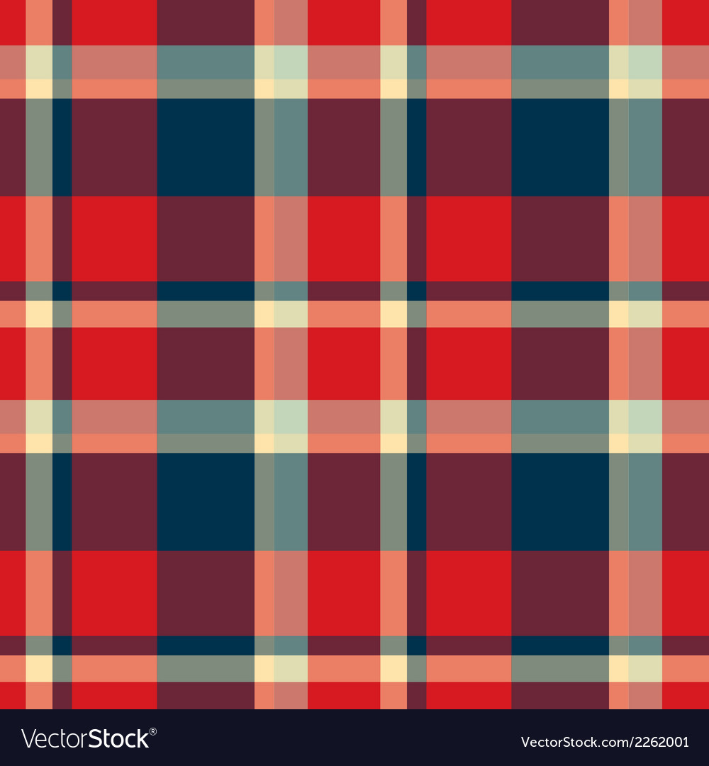 Tartan seamless pattern background vector | Price: 1 Credit (USD $1)