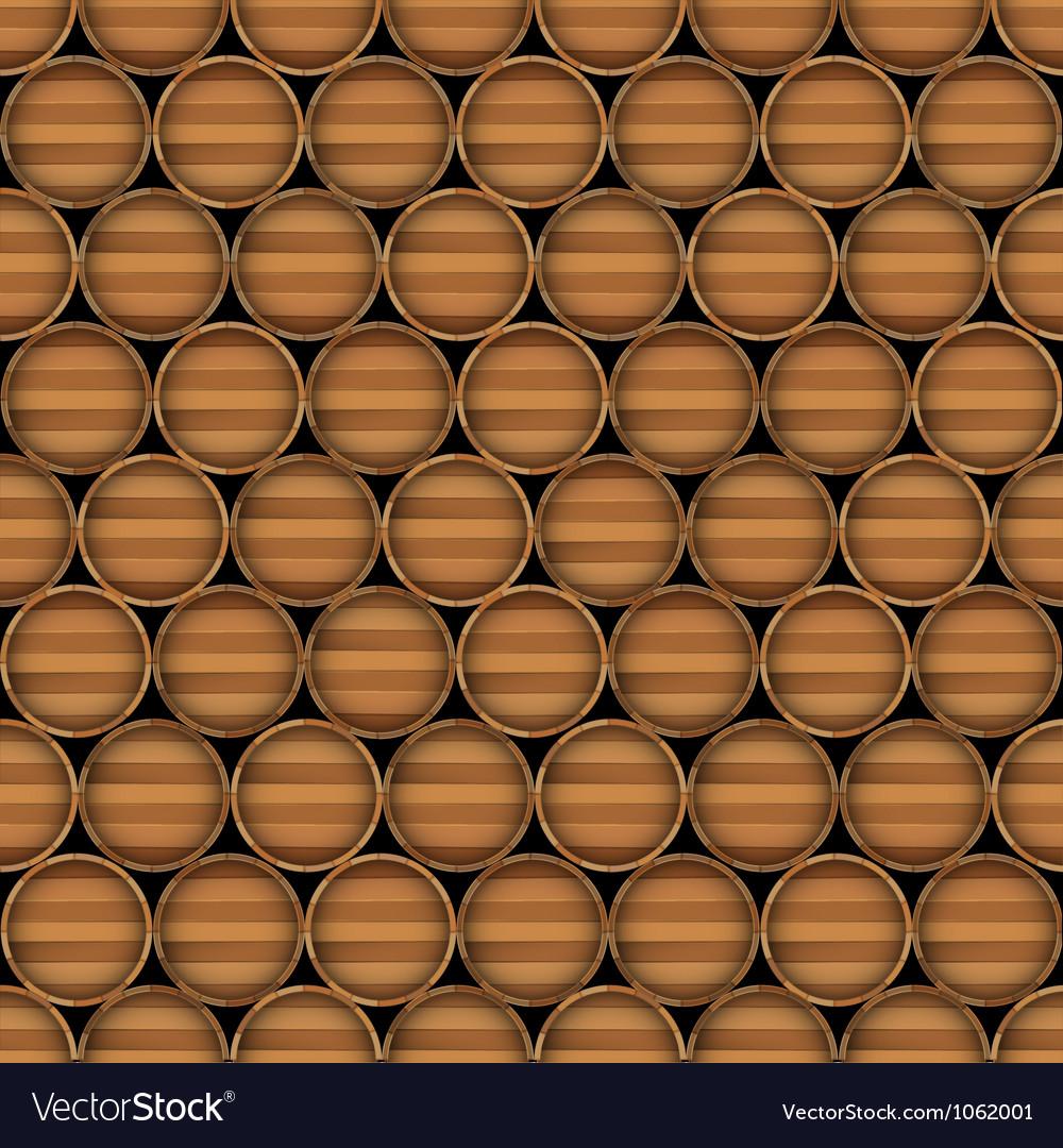 Wooden barrels vector   Price: 1 Credit (USD $1)