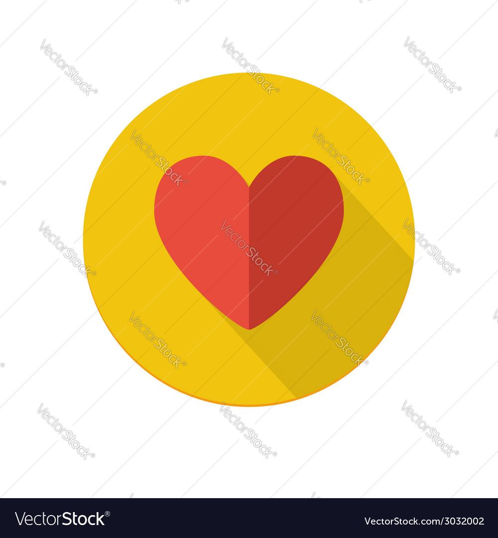 Heart icon vector | Price: 1 Credit (USD $1)