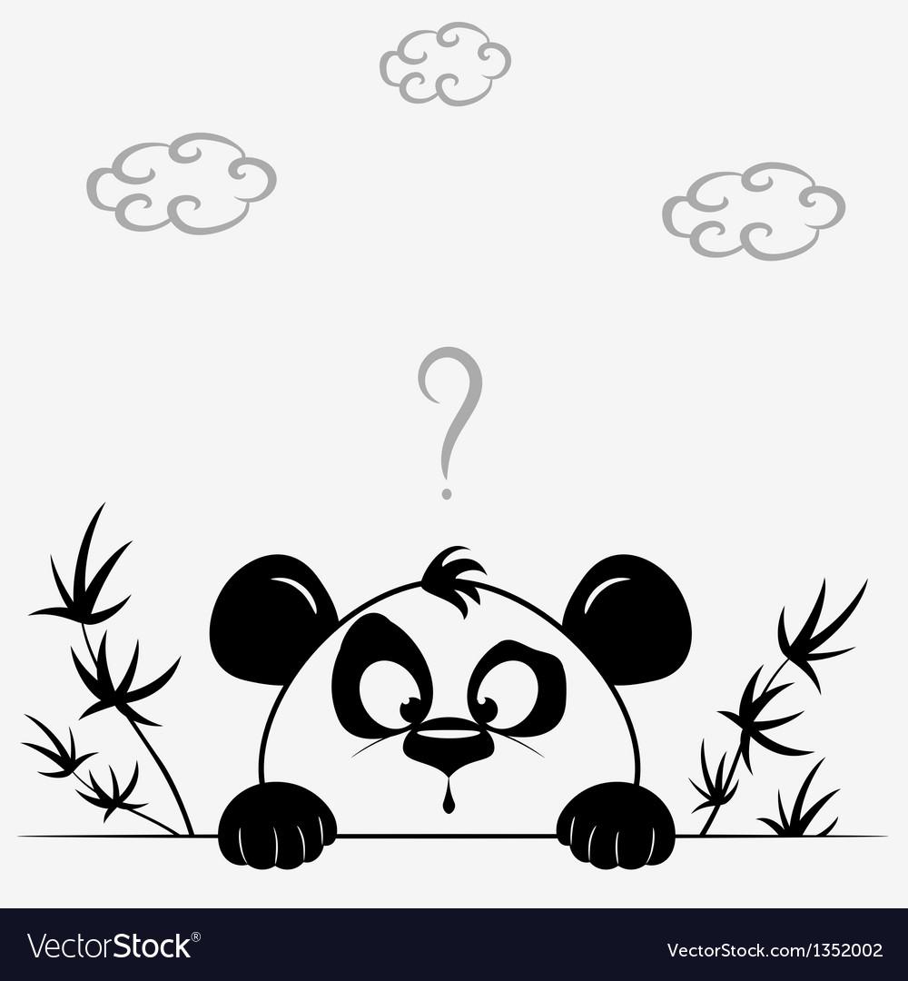 Panda cute vector   Price: 1 Credit (USD $1)