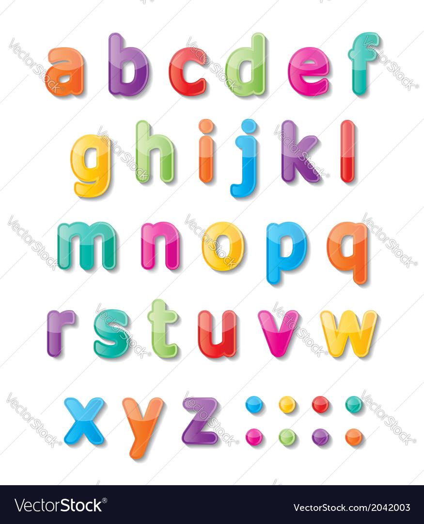 Abc font vector | Price: 1 Credit (USD $1)
