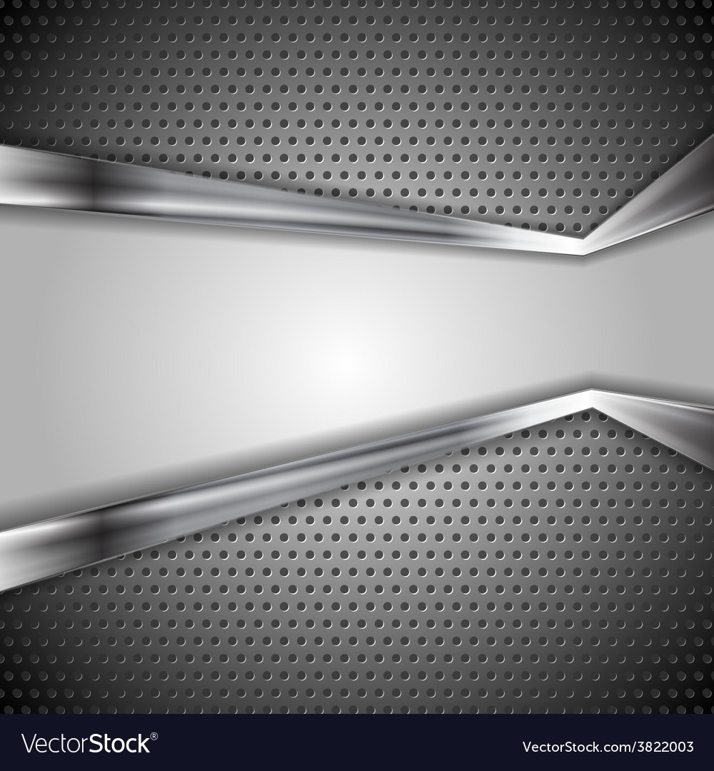 Abstract perforated metal background vector | Price: 1 Credit (USD $1)