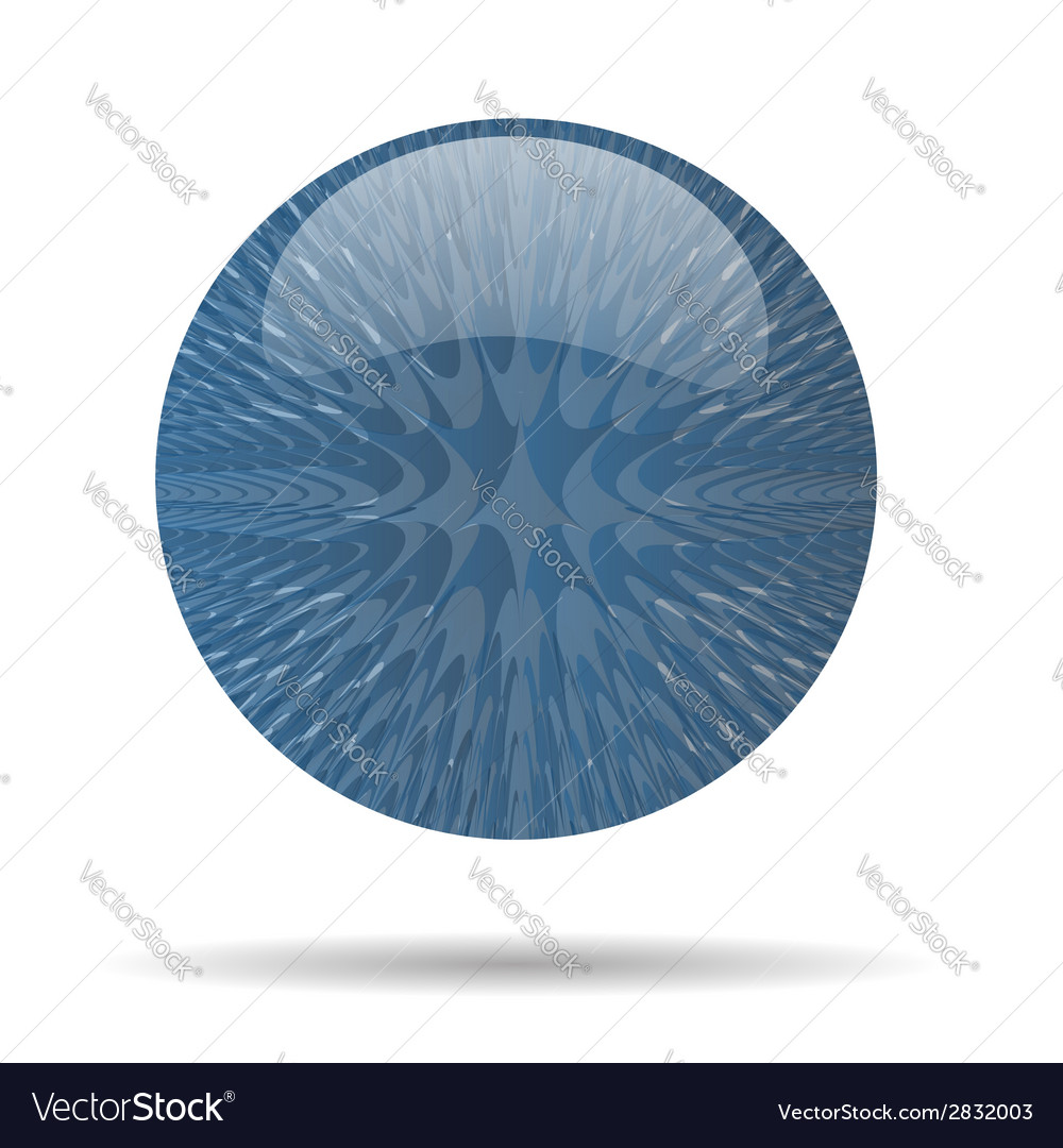 Blue ball vector | Price: 1 Credit (USD $1)