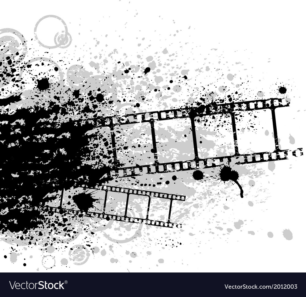 Grunge film vector | Price: 1 Credit (USD $1)