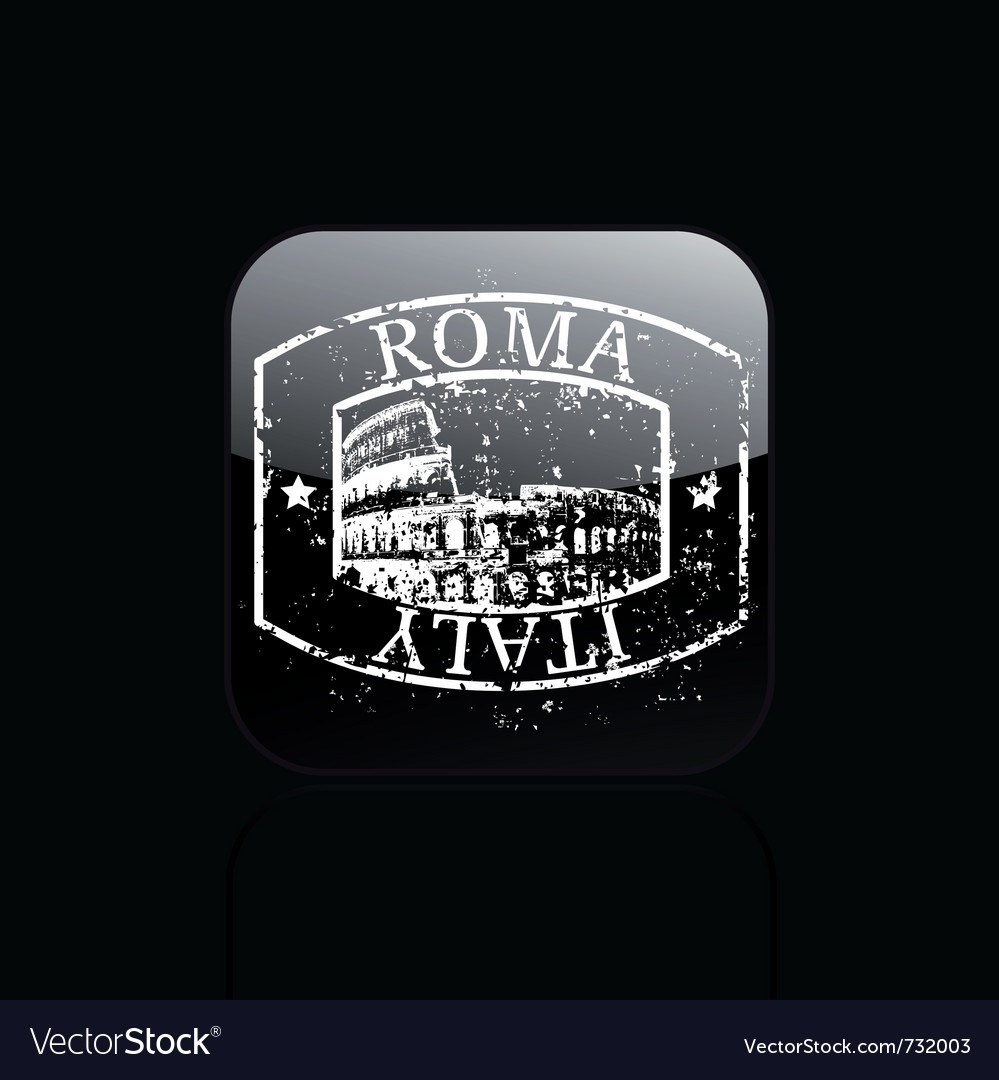 Rome single grunge vector | Price: 1 Credit (USD $1)
