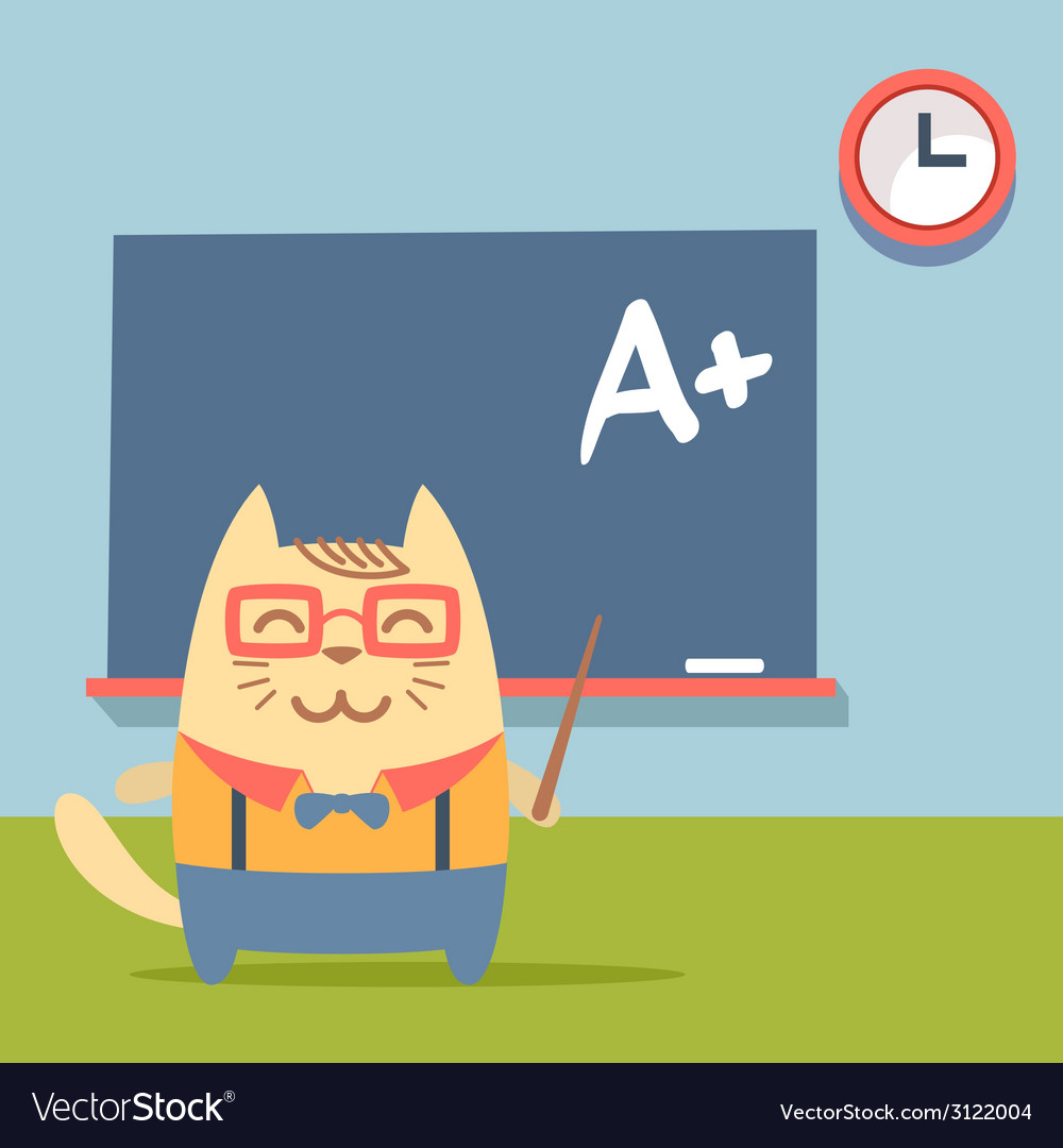 Character teacher in a business suit with vector   Price: 1 Credit (USD $1)