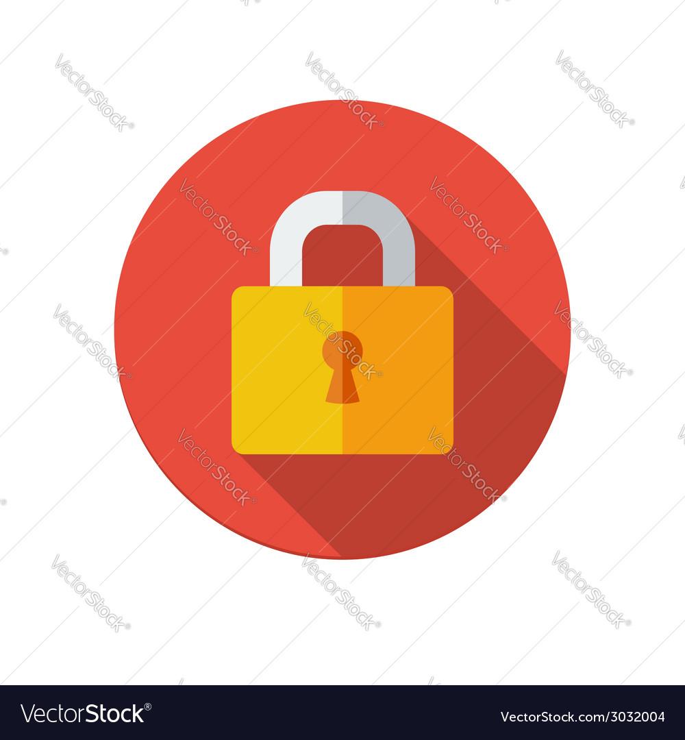 Lock icon vector | Price: 1 Credit (USD $1)