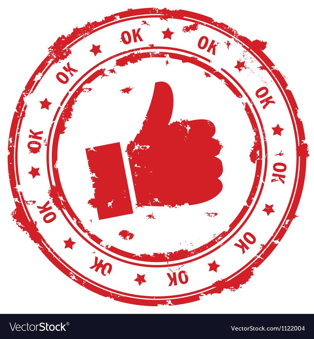 Ok hand vector | Price: 1 Credit (USD $1)