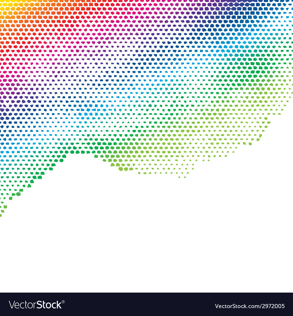 Colorful halftone background vector | Price: 1 Credit (USD $1)