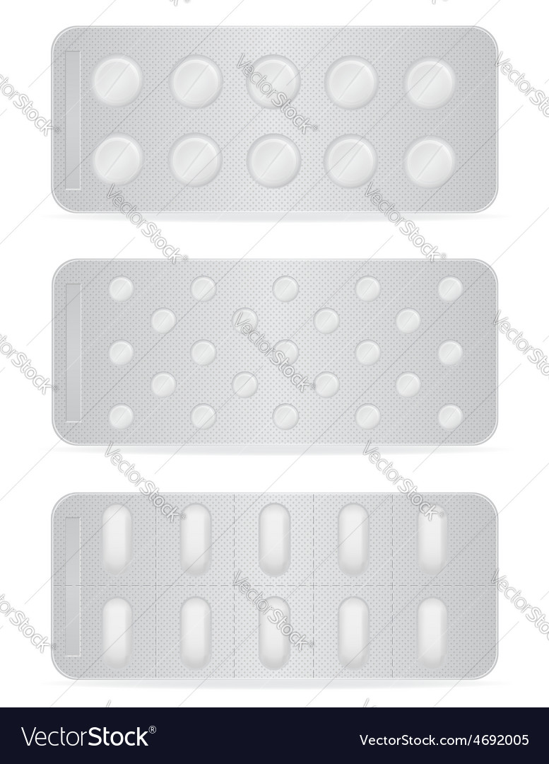 Pill in package 13 vector | Price: 1 Credit (USD $1)