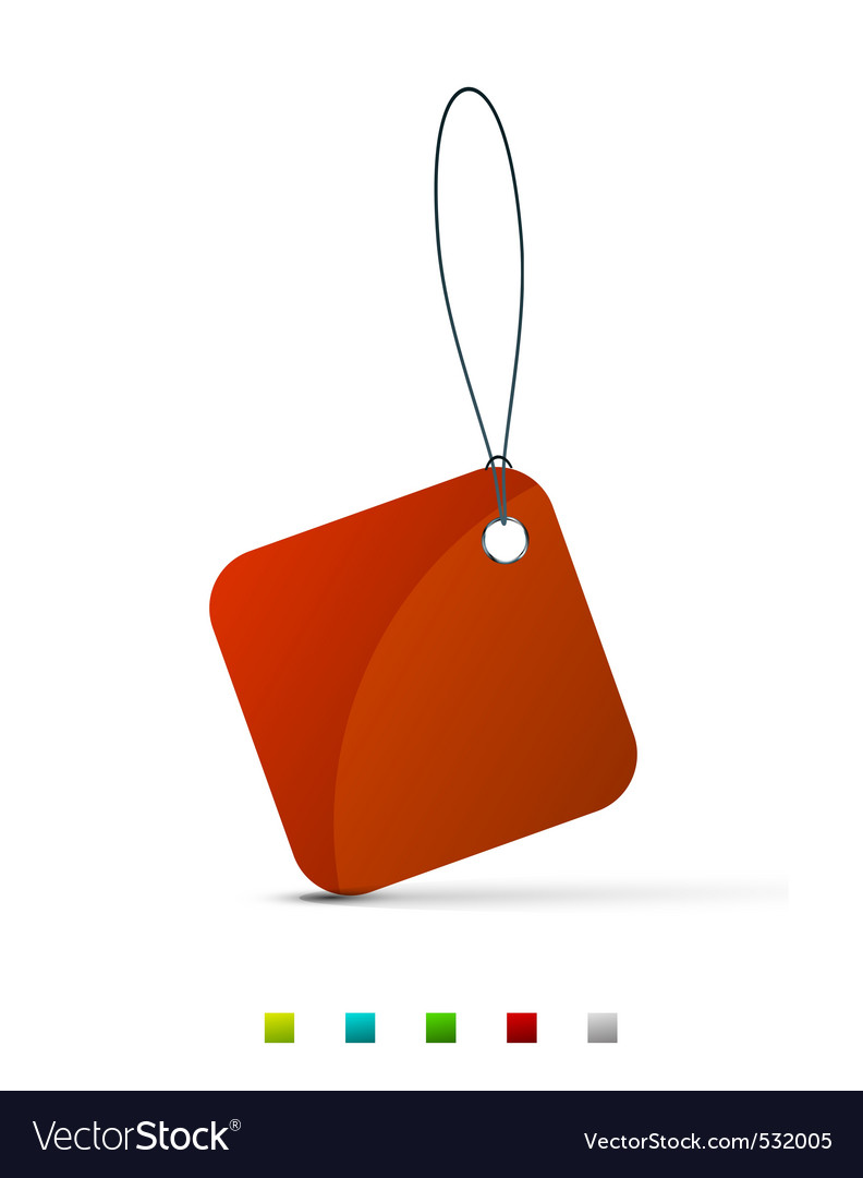 Shopping tag vector | Price: 1 Credit (USD $1)
