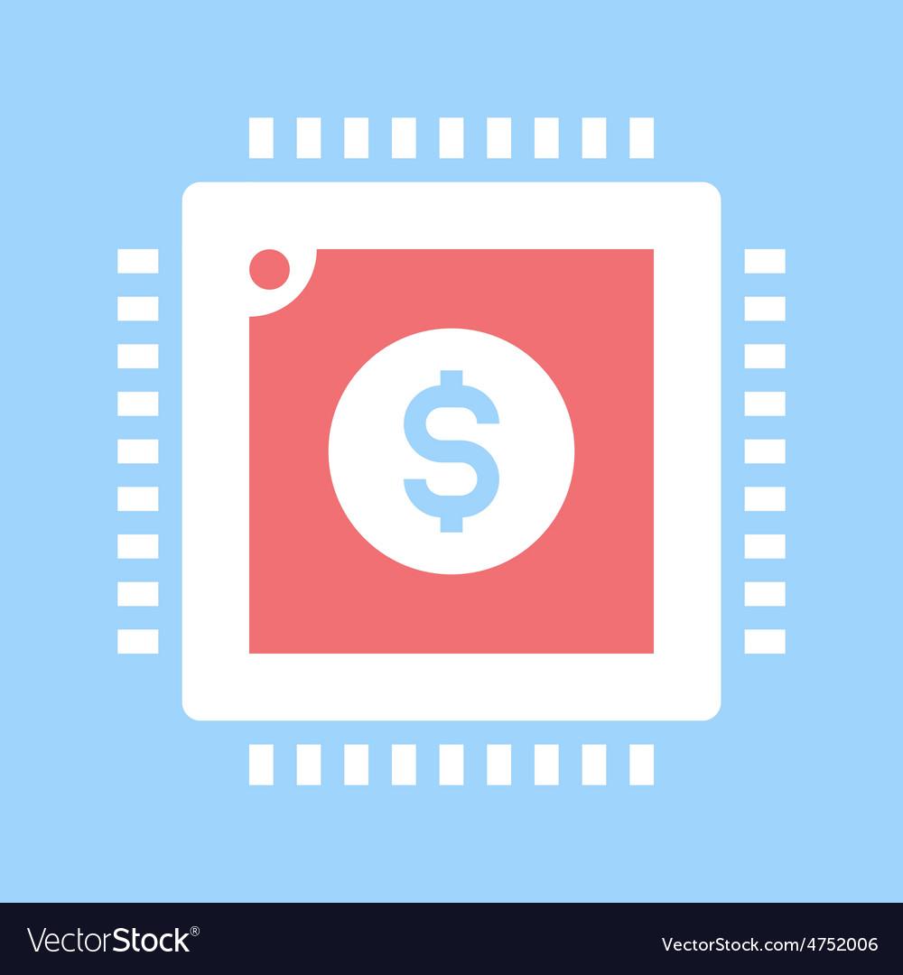Digital currency vector | Price: 1 Credit (USD $1)