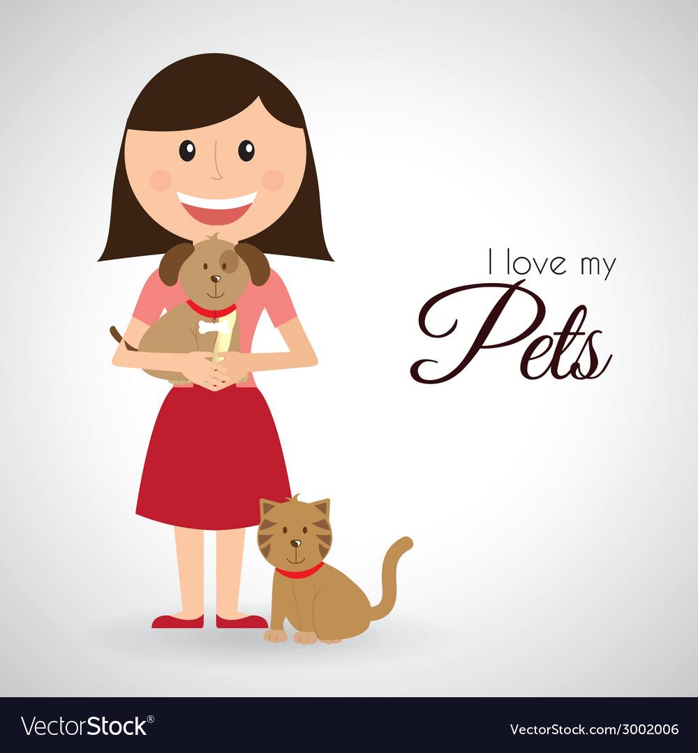 Pets design vector | Price: 1 Credit (USD $1)