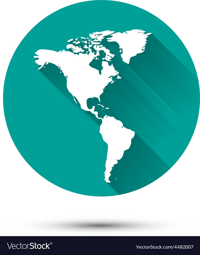 Earth globe white icon on green background with vector   Price: 1 Credit (USD $1)