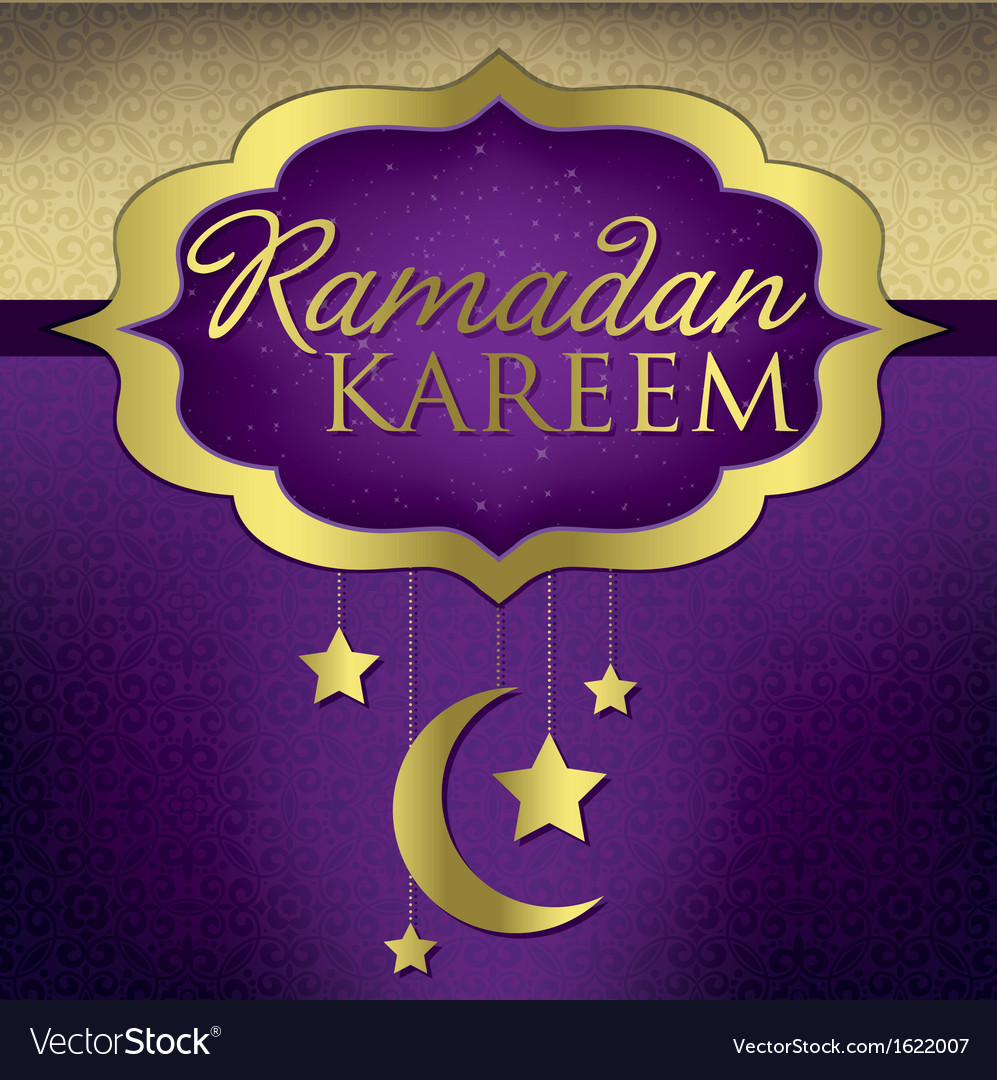 Ramadan card vector | Price: 1 Credit (USD $1)