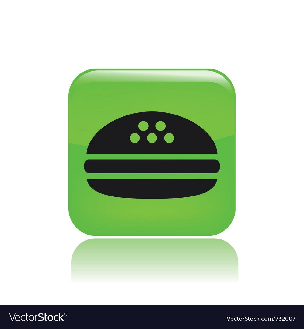 Sandwich icon vector | Price: 1 Credit (USD $1)