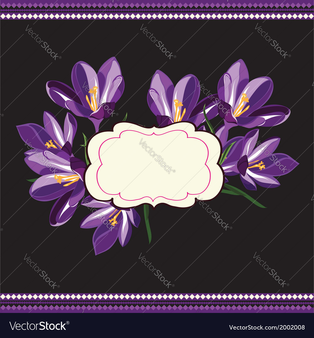 Beautiful floral patternspring background vector | Price: 1 Credit (USD $1)