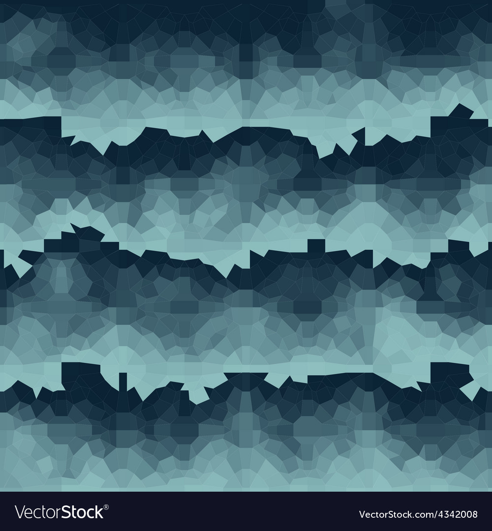 Blue pixel waves backdrop vector | Price: 1 Credit (USD $1)