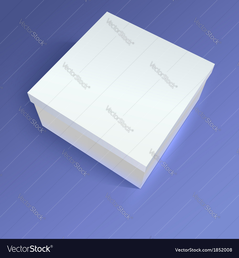 Close up carton box on colored background vector | Price: 1 Credit (USD $1)