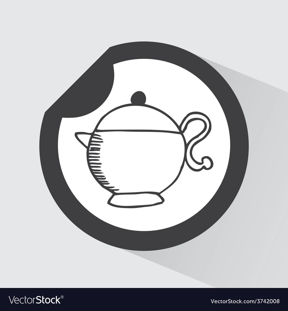 Coffee icon vector | Price: 1 Credit (USD $1)