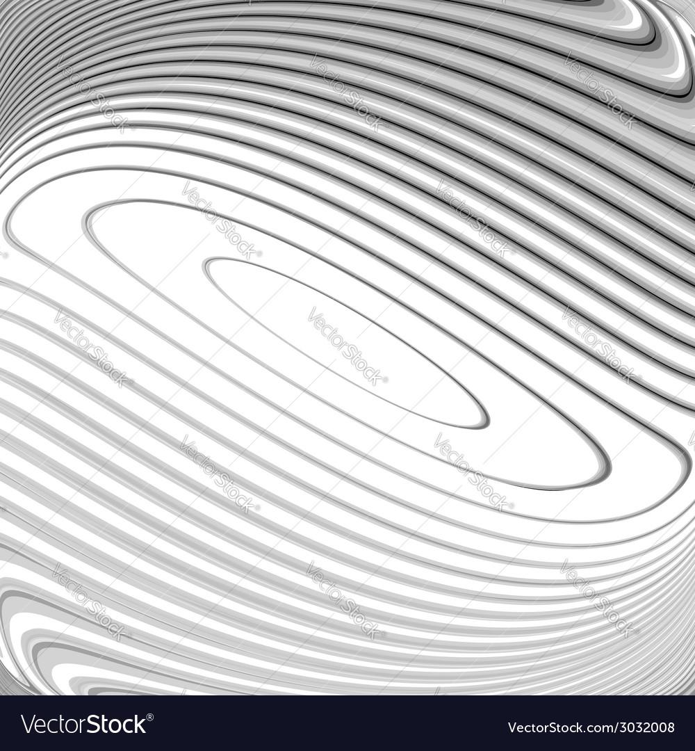 Design monochrome whirl circular background vector | Price: 1 Credit (USD $1)