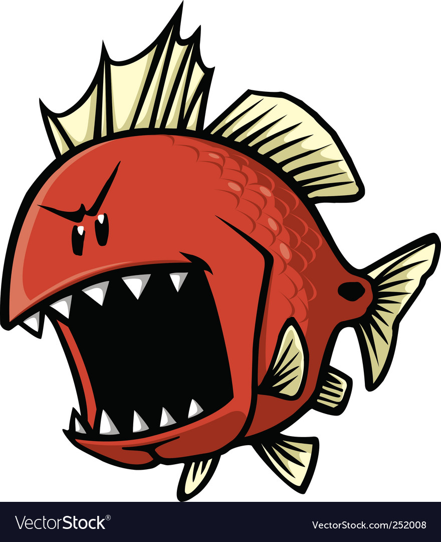 Red fish vector | Price: 3 Credit (USD $3)