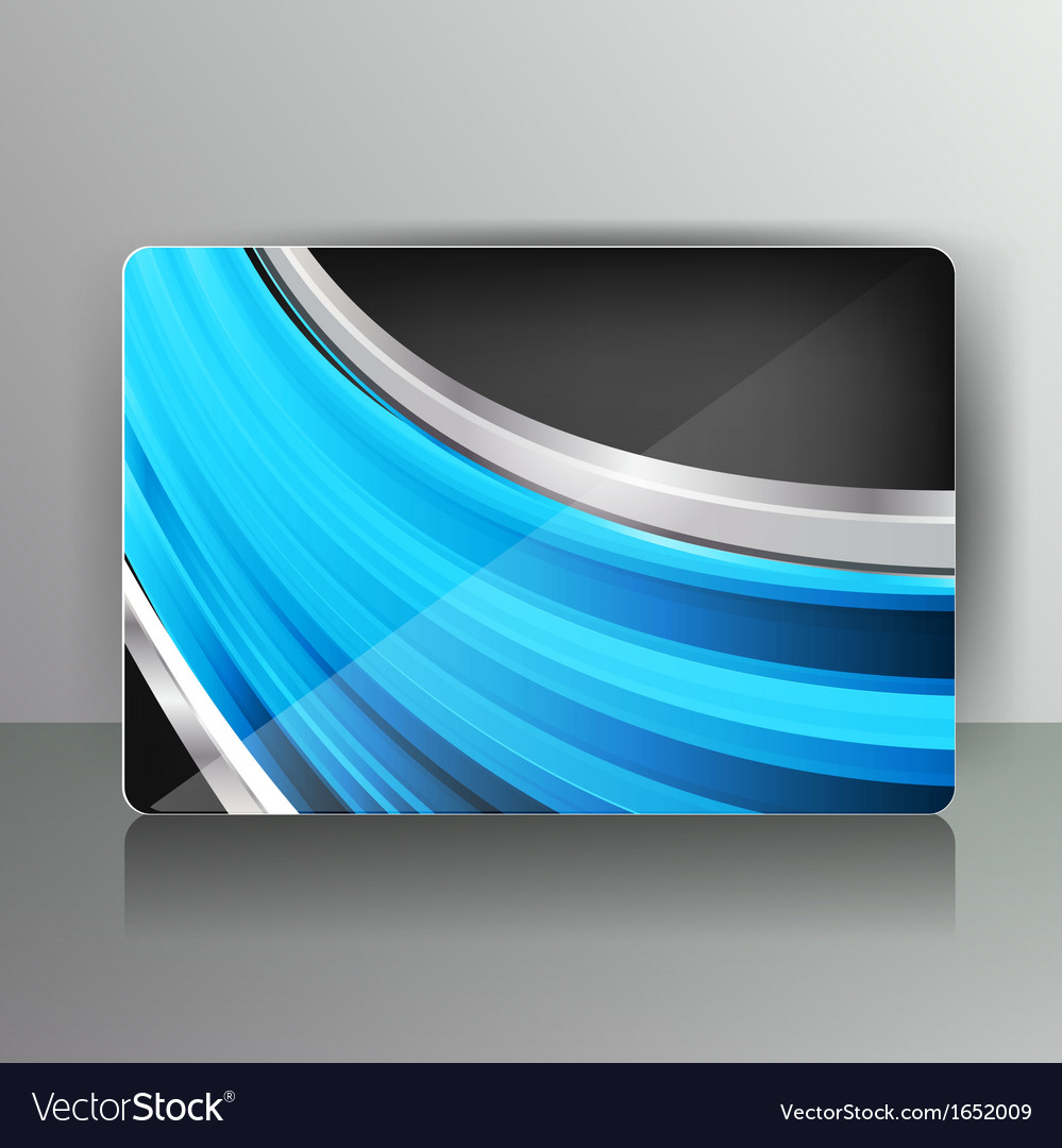 Abstract card with colored lines vector | Price: 1 Credit (USD $1)