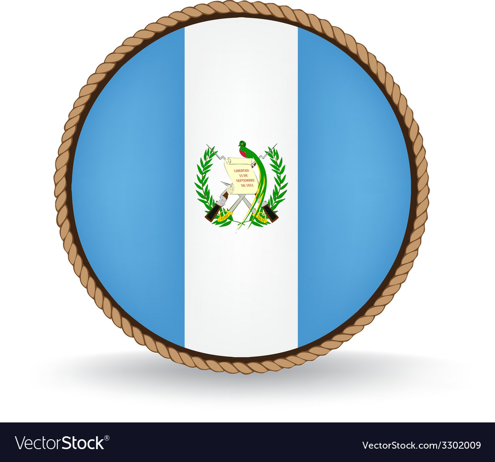 Guatemala seal vector | Price: 1 Credit (USD $1)