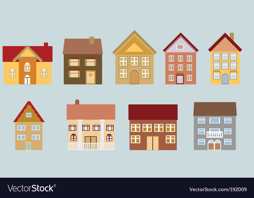 Neighborhood set vector | Price: 1 Credit (USD $1)